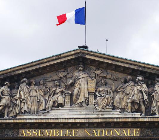 Fronton_de_Assemblee_nationale-Francois_Vanleene